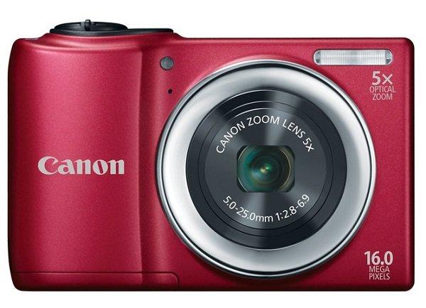 Недорогой фотоаппарат Canon PowerShot A810