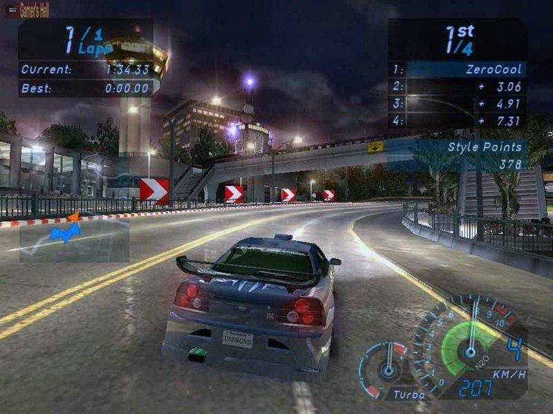 Need For Speed: Underground (2003) » Скачать игры бесплатно через торрент
