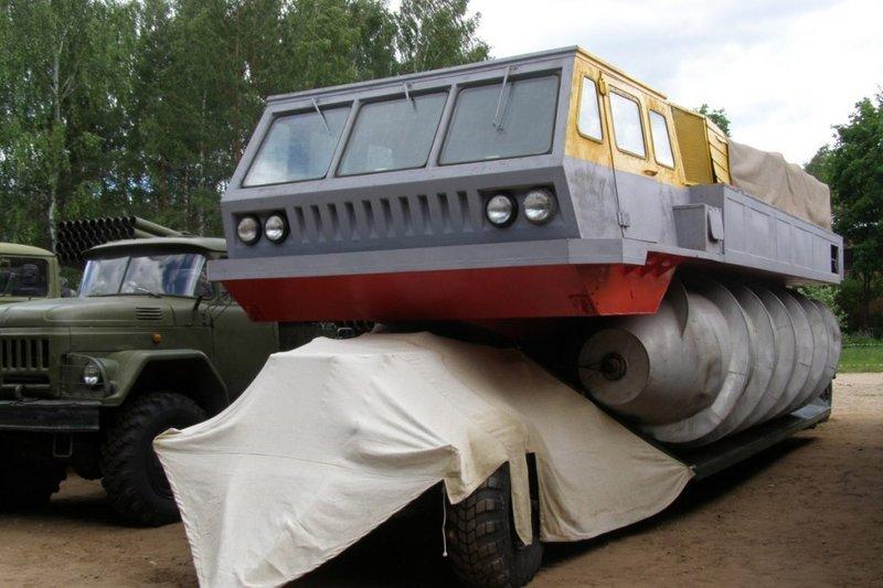 Невероятные вездеходы, созданные в СССР