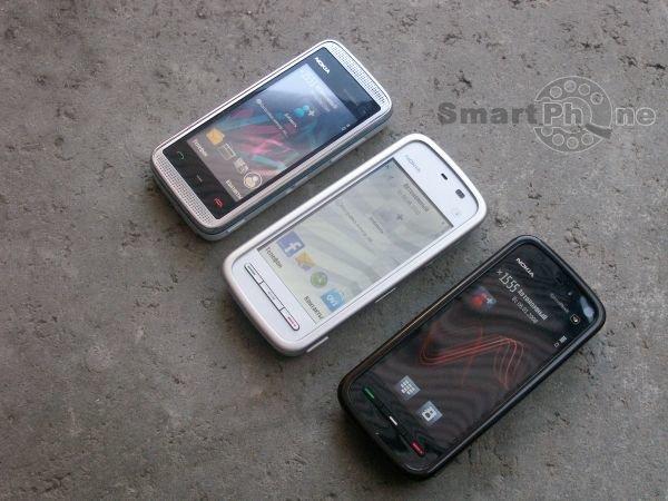Nokia 5230, Nokia 5530 Xpress Music и Nokia 5800 Xpress Music: в поисках оптимального выбора