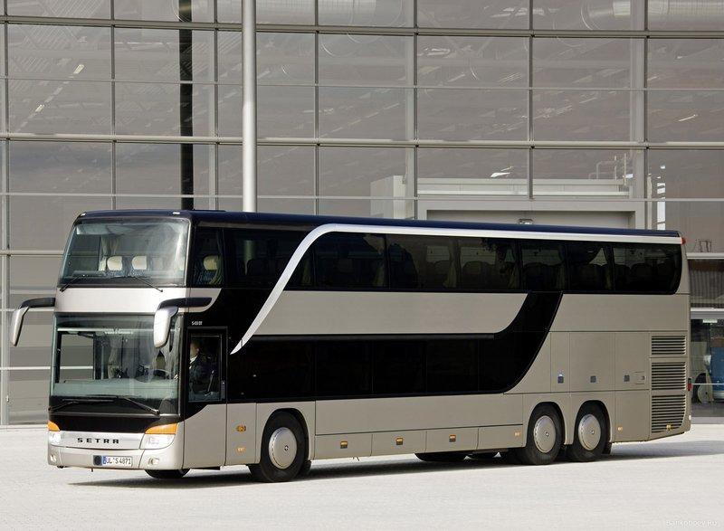 обои Двухэтажный автобус Setra фото