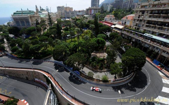 Обои трасса Формулы-1 в Монако (Монте-Карло)
