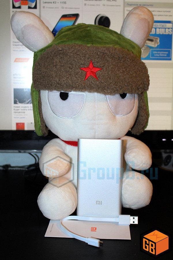 Обзор внешнего аккумулятора Xiaomi PowerBank 5000 mAh