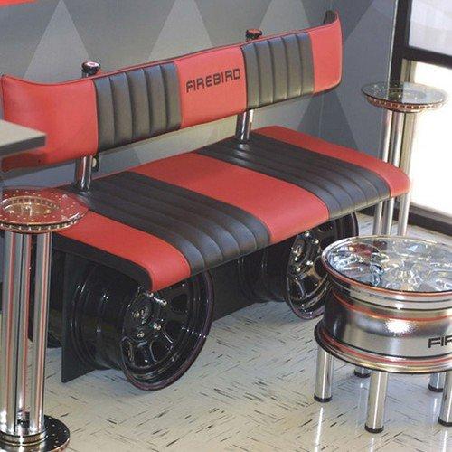 Оригинальная мебель из автозапчастей - Интересные факты. Интересные новости.