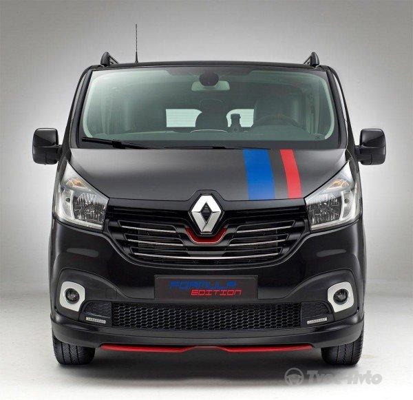 Подразделение Renault в Голландии показало особую версию Trafic Formula Edition