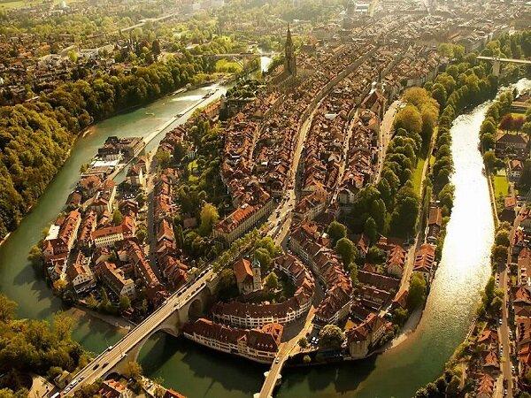Популярные города с высоты птичьего полета