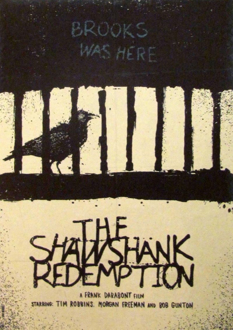 Постер к фильму  Побег из Шоушенка :: Интернет-магазин дизайнерских постеров