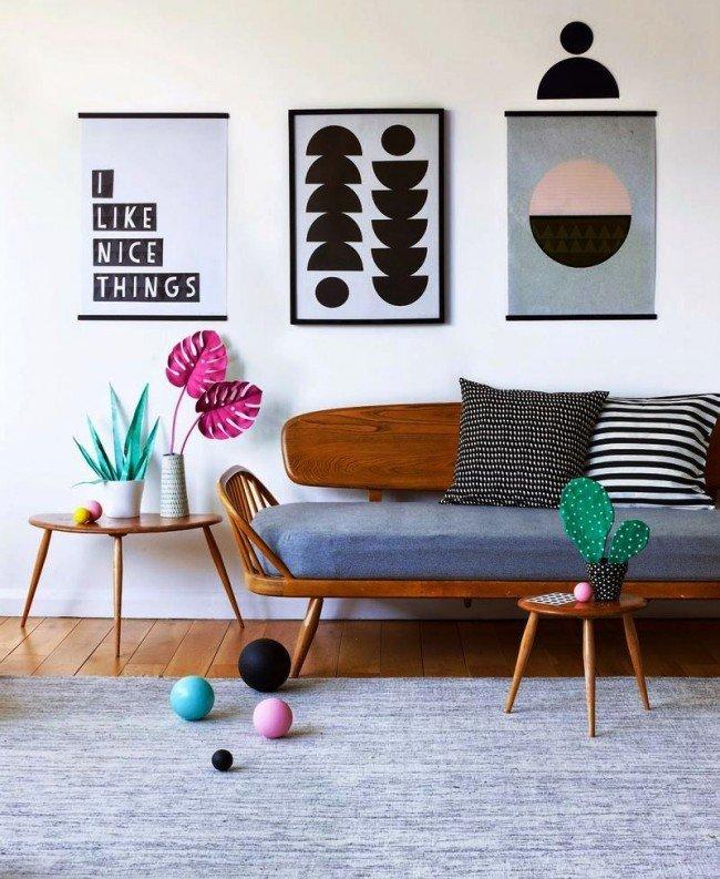 Постеры для интерьера - весьма важный элемент декора