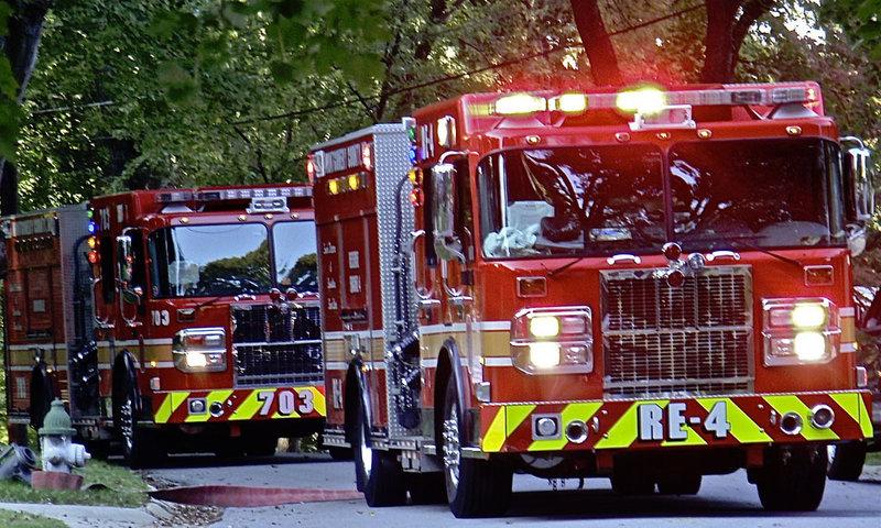Пожарный втомобиль