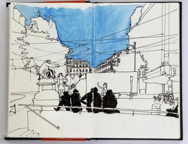 Рисуя город: как в Киеве появился скетчинг-клуб | INSIDER
