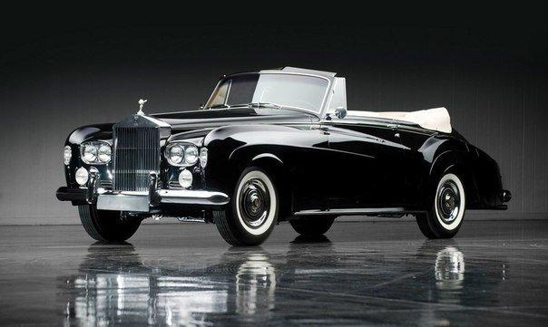 Rolls-Royce Silver Cloud III Drophead Coupe by Mulliner