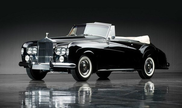 Rolls-Royce Silver Cloud III Drophead Coupe by Mulliner