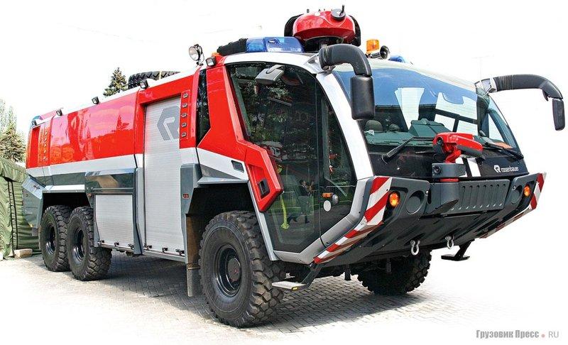 Rosenbauer Panther 6x6 CA5 – пожарный аэродромный автомобиль