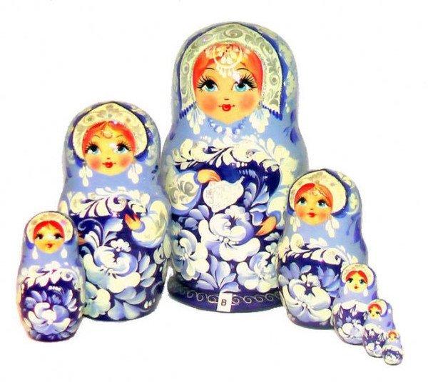 Русская матрёшка (23 фото)