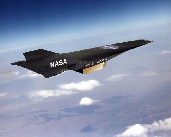Самым скоростной - гиперзвуковой X-43A
