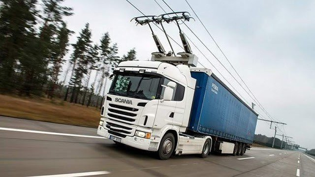 Scania-Siemens e-Highway Trolley Truck