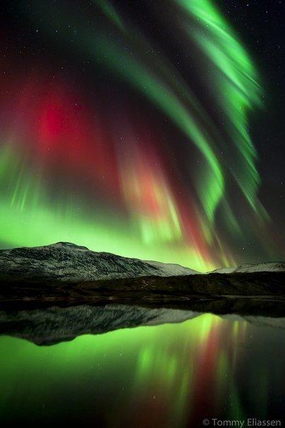 северное сияние, полярное сияние, красивые фотографии природы | Здоровье детей в наших руках