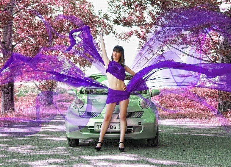 Скоростной фотосет: делаем снимки с автомобилем - Фотосессии