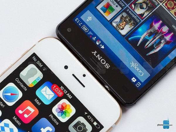 Sony Xperia Z3 Compact vs Apple iPhone 6