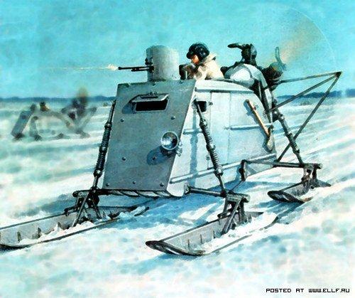 Советские снегоходы (48 фото)