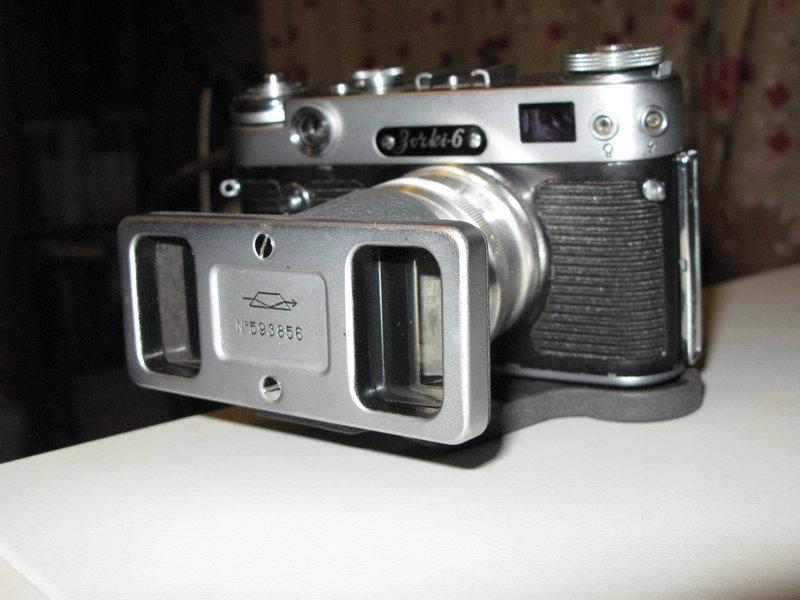 Стереонасадка для советских фотоаппаратов
