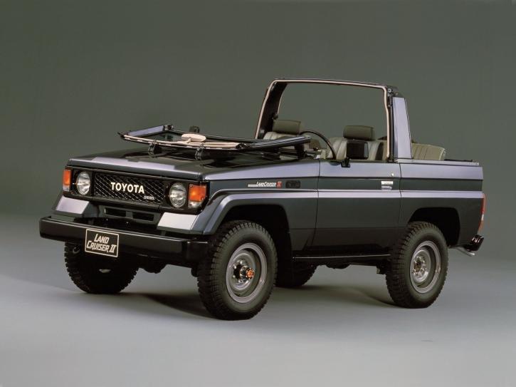 Toyota Land Cruiser Canvas Top