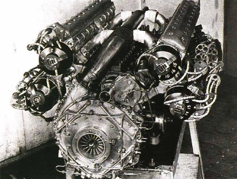 Удивительные моторы F1. BRM V16 1949 г. / личный блог Samael / smotra.ru
