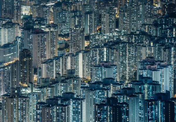 Удивительный город контрастов - Гонконг (13 фото)