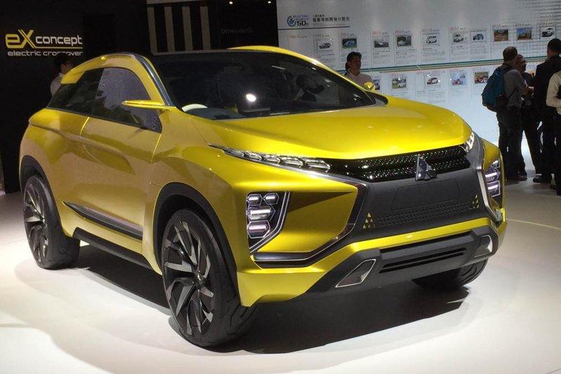 В Токио состоялась премьера электромобиля Mitsubishi eX | Электромобили