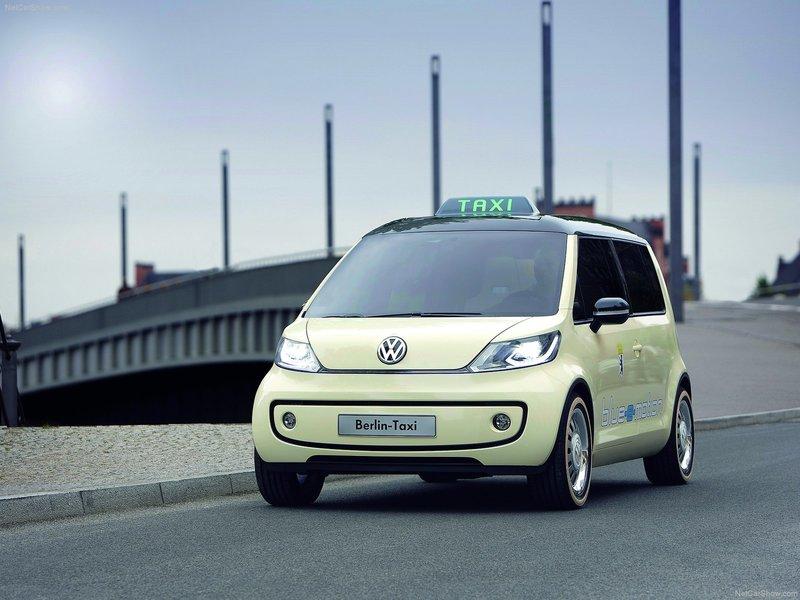 Volkswagen Berlin Taxi Concept фото