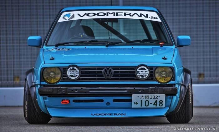 VW Golf 2 by Voomeran