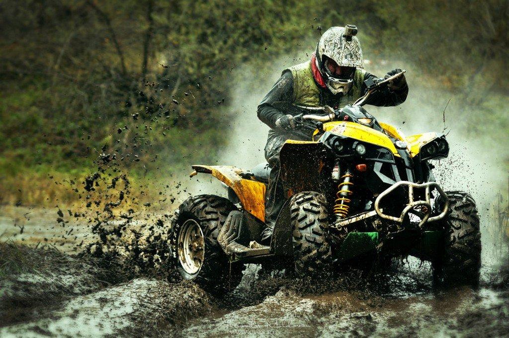 Картинки квадроцикла в грязи