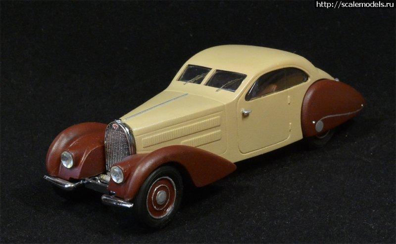 Wroom 1/43 Bugatti 57 GANGLOFF