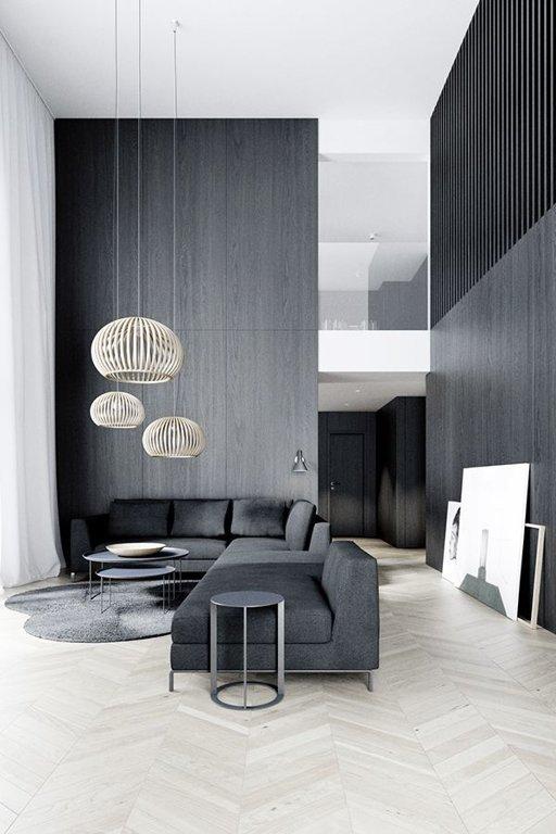 Декор интерьера в стиле минимализм
