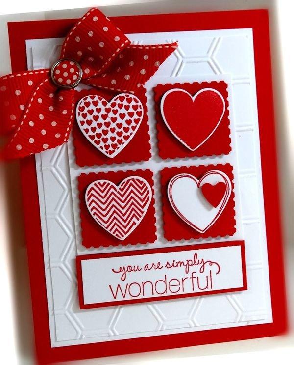 Необычные открытки день валентина