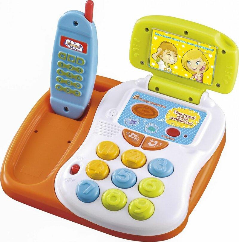 развивающий телефон для детей от 1 года центральной его