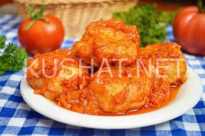 рецепт тефтелей с рисом в томатном соусе с фото пошагово
