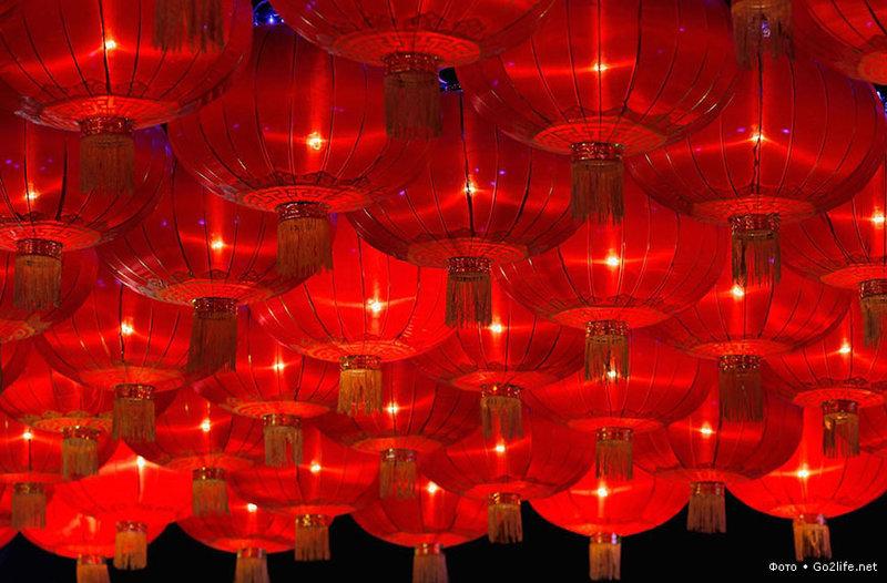 Китайский праздник фонарей