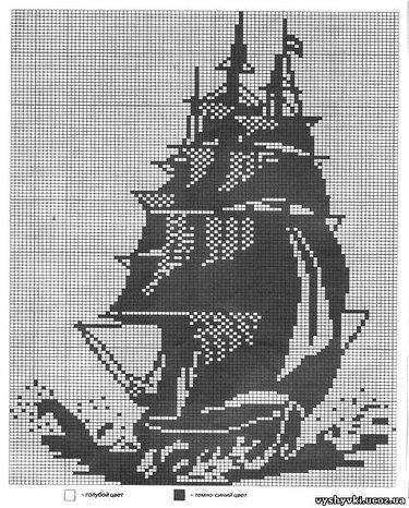 Схема вышивки крестом монохром скачать бесплатно 426