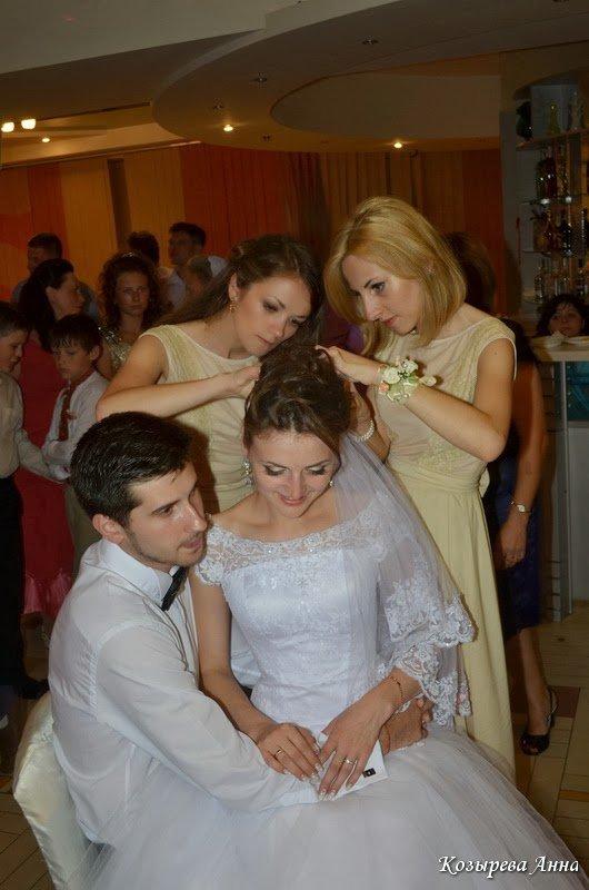 Обряд снимания фаты с невесты