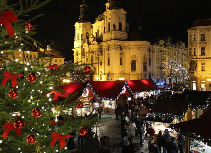 Отмечаем Новый год в Праге