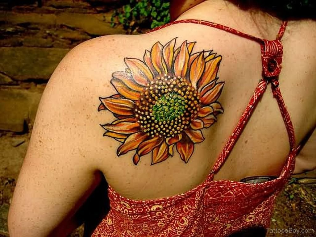 sunflower tattoo images - 968×768