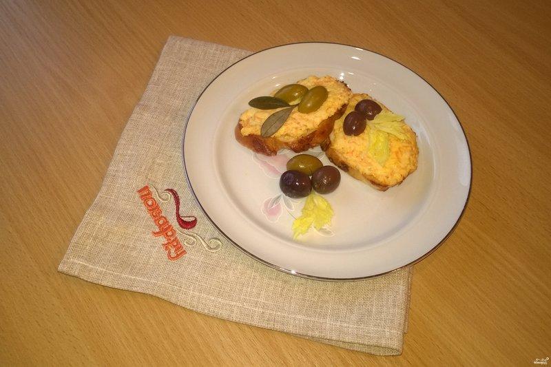 рецепт сырной закуски с фото