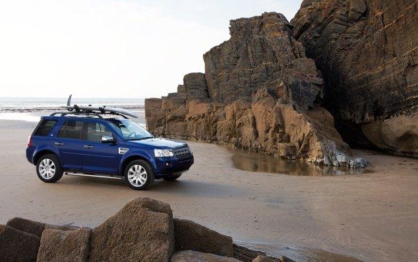 Land Rover фиолетовый