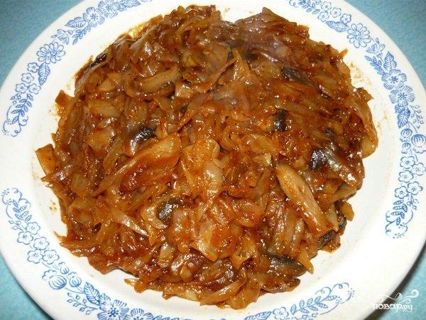 солянка в мультиварке из капусты с мясом