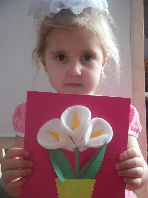Открытки с детьми к дню матери средняя группа, днем рождения