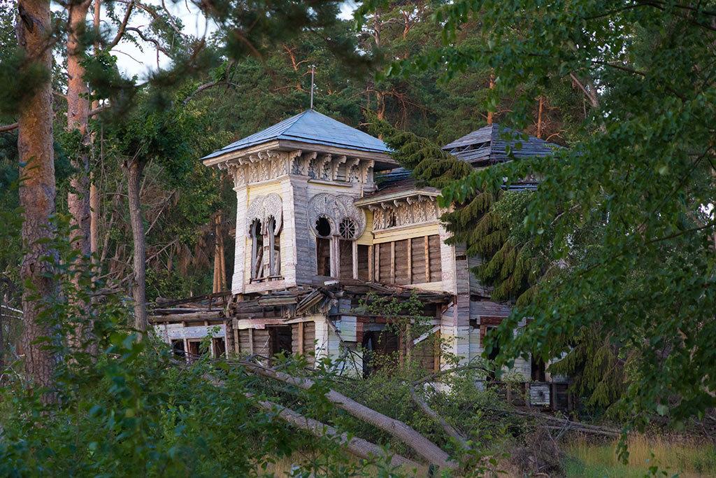 Усадьба купца Сорокина.Красивейшее место в Красном бору-Романовская сторона.