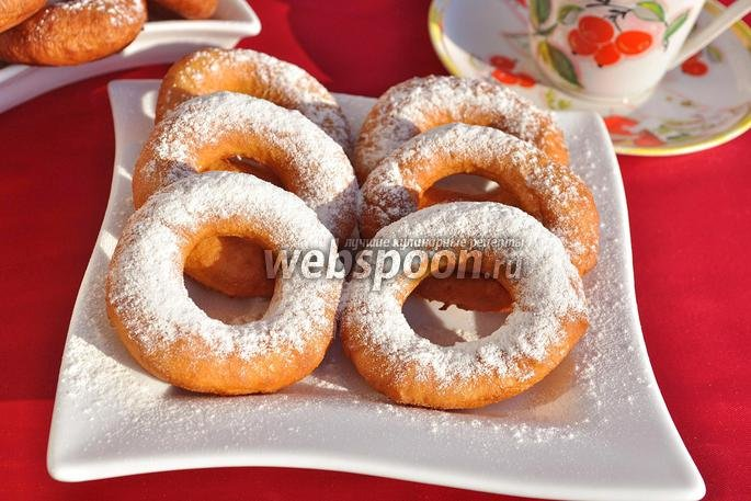 Пончики воздушные рецепт с фото