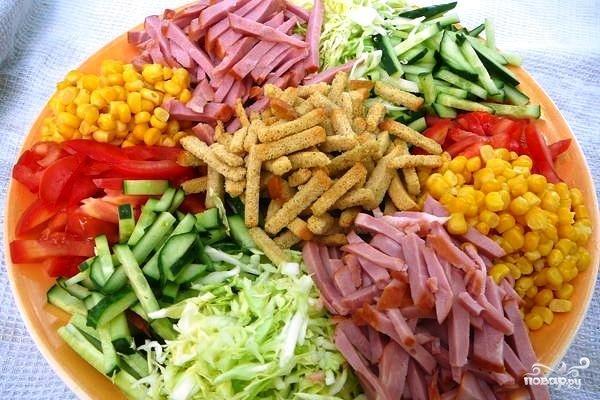 Козел огороде салат фото
