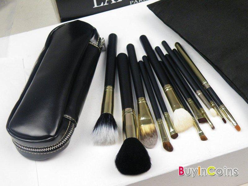 12 шт Новые профессиональные кисти и чехол для макияжа -- BuyinCoins.com